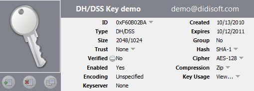 Java generate DH/DSS OpenPGP key