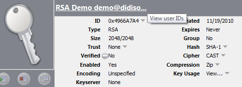 Generate RSA pgp keys in Java - DidiSoft OpenPGP solutions